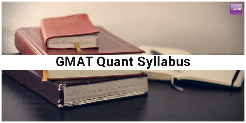GMAT Quant syllabus