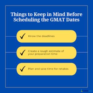 GMAT Exam Date